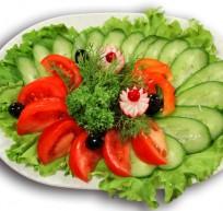 Способы нарезки овощей