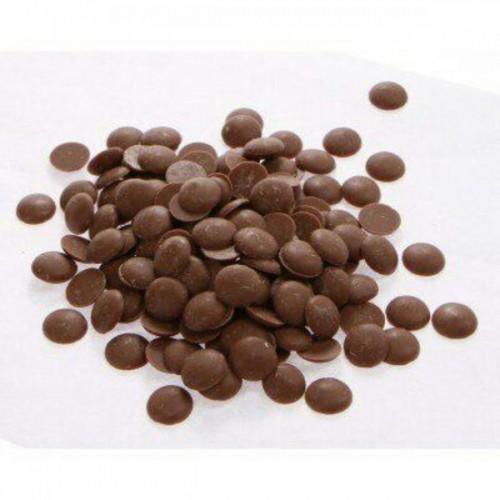 Шоколадная глазурь темная в дисках, 200 г