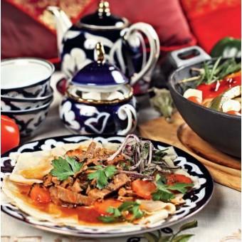 Летняя узбекская кухня
