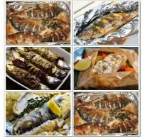 Запекание рыбы