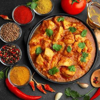Индийская кухня с Василием Емельяненко