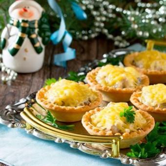 Новогодние и рождественские закуски