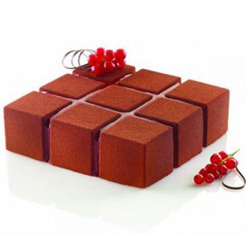 Силиконовая форма  Кубик Silikomart