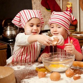 Готовим с детьми. Яйца Пашот и Крем-брюле!