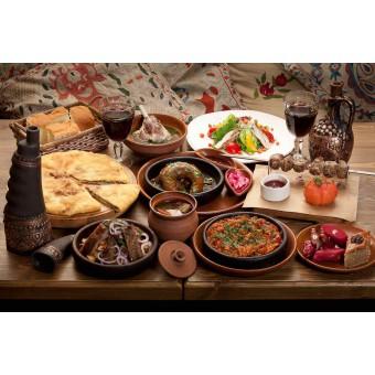 Летняя грузинская кухня