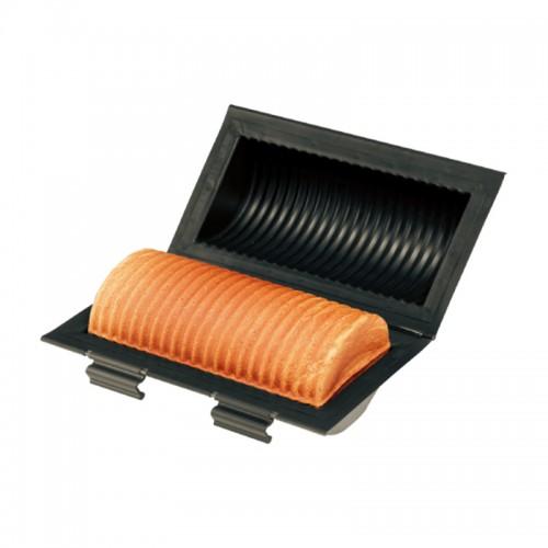 Форма антипригарная гофрированная для тостового хлеба 270х186х128 мм