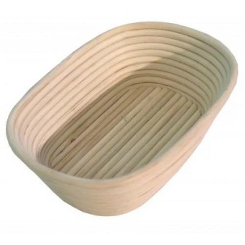 Форма для расстойки теста из лозы овальная