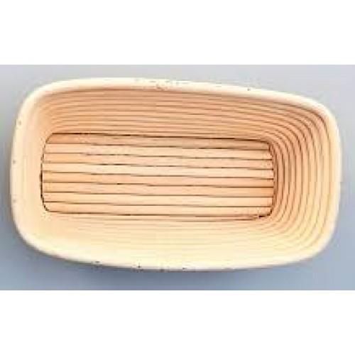 Форма для расстойки теста из лозы прямоугольная, 240х130 мм
