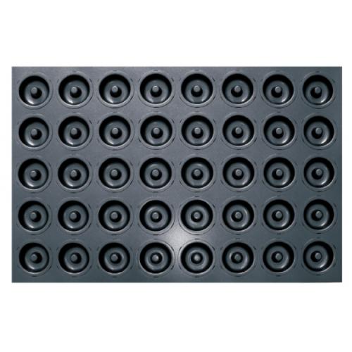 Противень для выпечки 40 кексов Саварин 600х400х20 мм