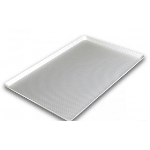Противень алюминиевый рифленый со скругленными углами (анодированный) 600*400*20, 1,5мм