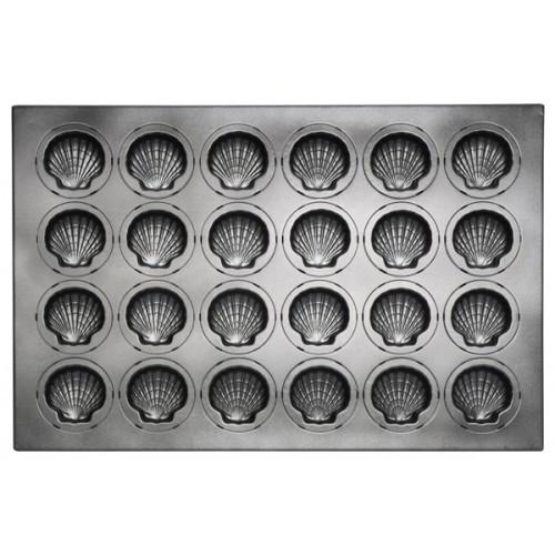 Противень для выпечки 28 кексов Мадлен 600х400х24 мм